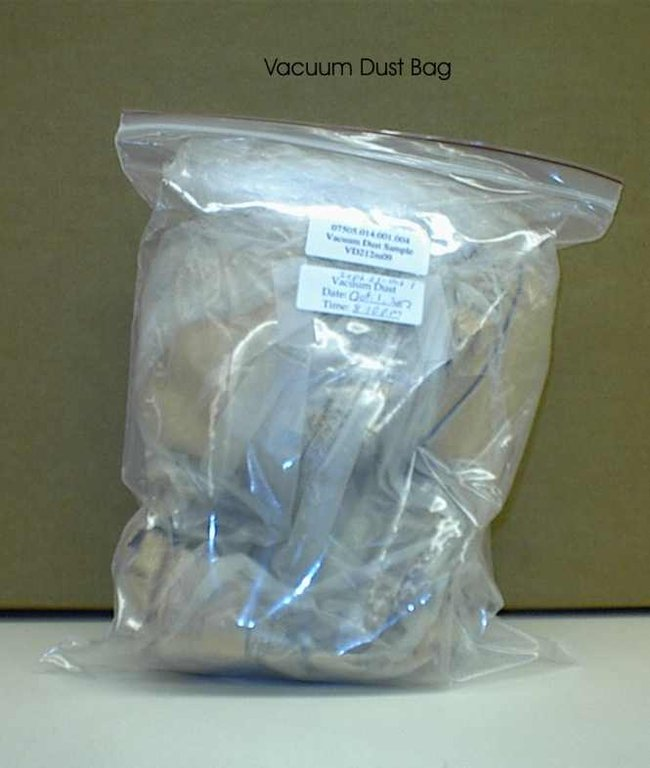 Image for Vacuum dust collection bag